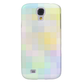Re-Created Colored Squares Samsung Galaxy S4 Cases