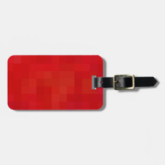 Re-Created Coloured Squares Luggage Tag