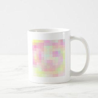 Re-Created Coloured Squares Coffee Mug