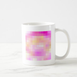 Re-Created Coloured Squares Coffee Mugs