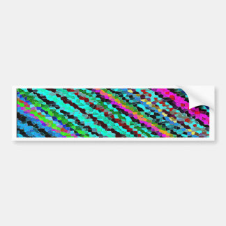Re-Created Crystal Field Bumper Sticker