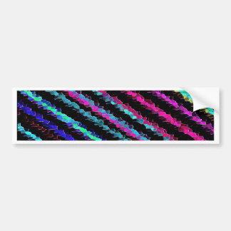 Re-Created Crystal Field Bumper Sticker