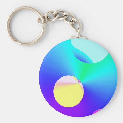 Re-Created DOTS Key Chain