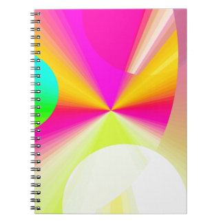 Re-Created DOTS Spiral Note Book