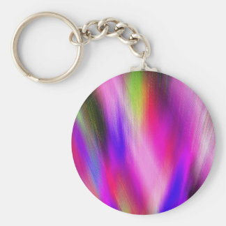 Re-Created Feather by Robert S. Lee Basic Round Button Key Ring