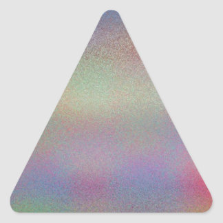 Re-Created Frost Triangle Stickers