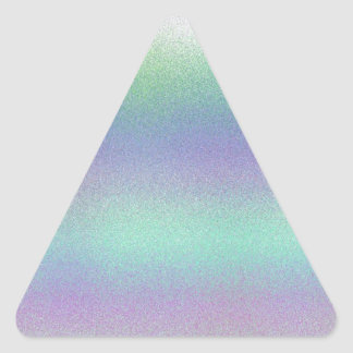 Re-Created Frost Triangle Sticker