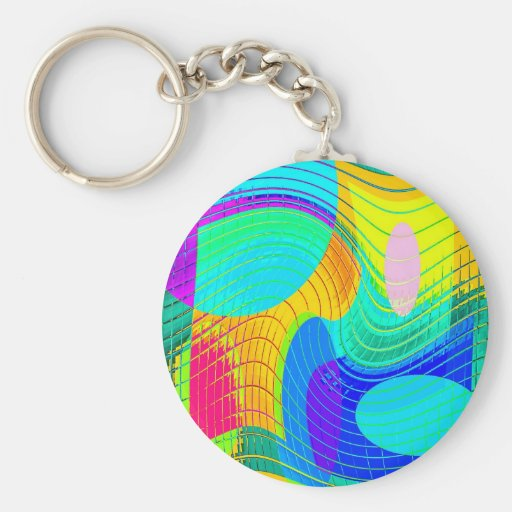 Re-Created Function f(x) Keychains