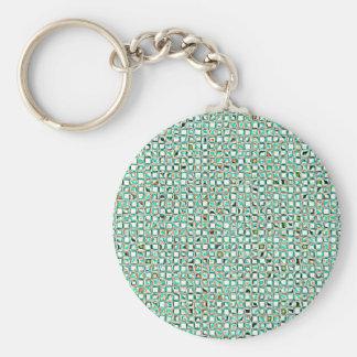 Re-Created Granada by Robert S. Lee Basic Round Button Keychain