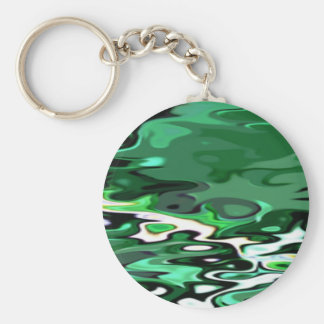 Re-Created Infinity Pool Basic Round Button Key Ring