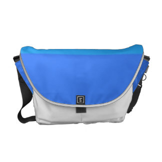 Re-Created Playing Field Messenger Bag