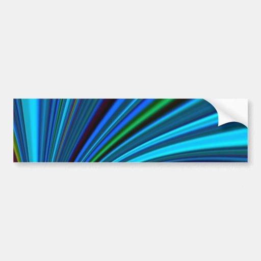Re-Created Slide Bumper Sticker