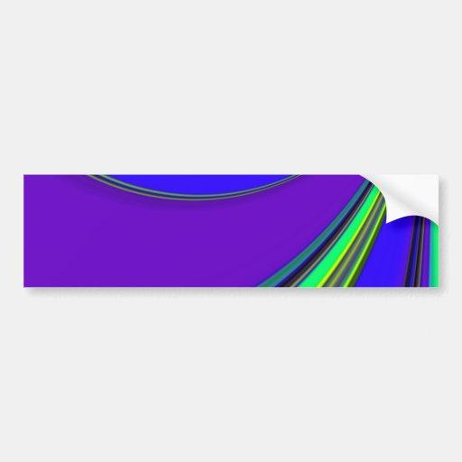 Re-Created Slide Bumper Stickers
