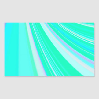 Re-Created Slide Rectangular Sticker