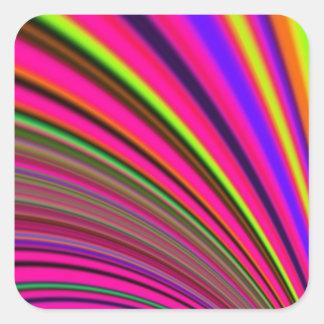 Re-Created Slide Square Sticker
