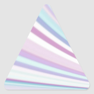 Re-Created Slide Triangle Stickers