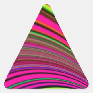 Re-Created Slide Triangle Sticker