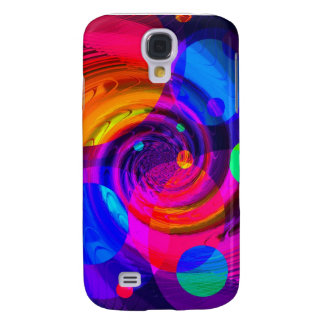 Re-Created Spiral Painting Galaxy S4 Case