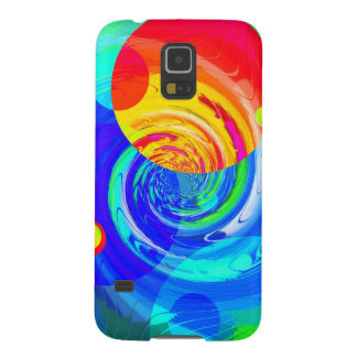 Re-Created Spiral Painting Galaxy S5 Cover