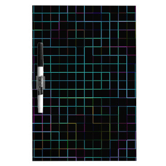 Re-Created Squares Dry Erase Whiteboards