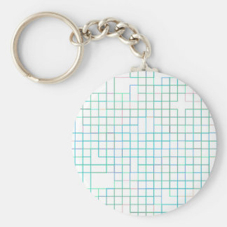 Re-Created Squares Key Chain