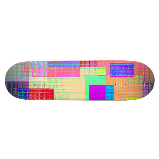 Re-Created Swatches Skateboard