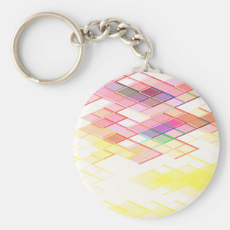 Re-Created Vertices Key Chain