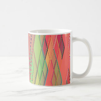 Re-Created Vertices Classic White Coffee Mug