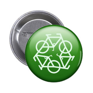 Re-Cycle 6 Cm Round Badge