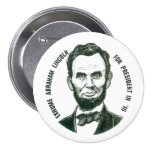 Re-elect Abe in 2016 7.5 Cm Round Badge