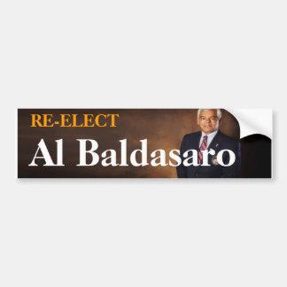Re-Elect Al Baldasaro Bumper Sticker