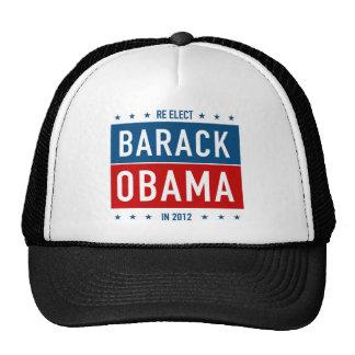 Re-elect Barack Obama in 2012 Hats