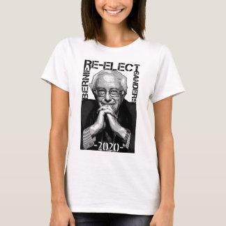 Re-Elect Bernie Sanders 2020 Textured Portrait T-Shirt