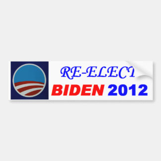 RE-ELECT BIDEN 2012 CAR BUMPER STICKER