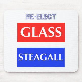 RE-ELECT Glass Steagall Mouse Pad