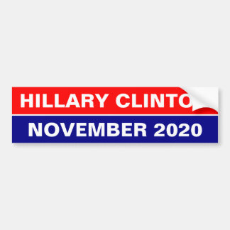 RE ELECT HILLARY NOVEMBER 2020 BUMPER STICKER