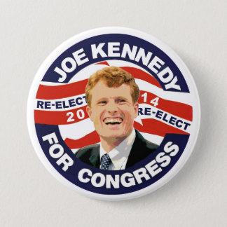 Re-Elect Joe Kennedy 2014 7.5 Cm Round Badge