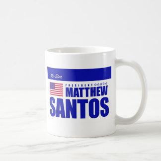 Re-elect Matt Santos mug