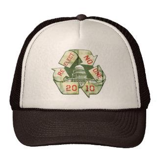 Re-Elect No One Anti-Incumbent Gear Trucker Hat