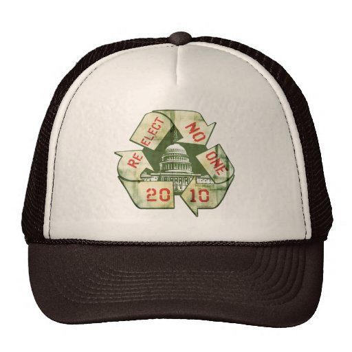 Re-Elect No One Anti-Incumbent Gear Hat