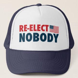 Re-Elect Nobody Trucker Hat