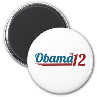 Re-Elect Obama '12 6 Cm Round Magnet