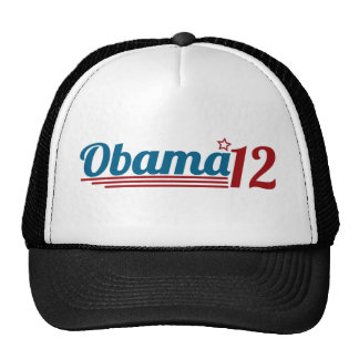 Re-Elect Obama 12 Mesh Hat