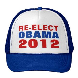 RE-ELECT OBAMA 2012 TRUCKER HAT