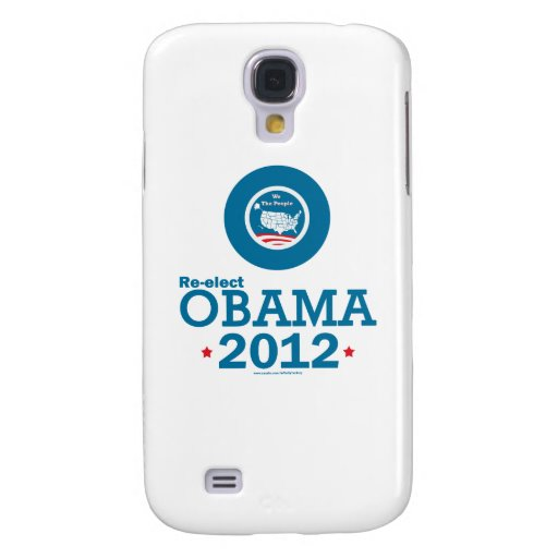 Re-elect Obama 2012 Samsung Galaxy S4 Cases