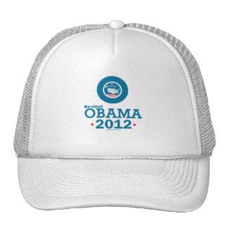 Re-elect Obama 2012 Mesh Hats