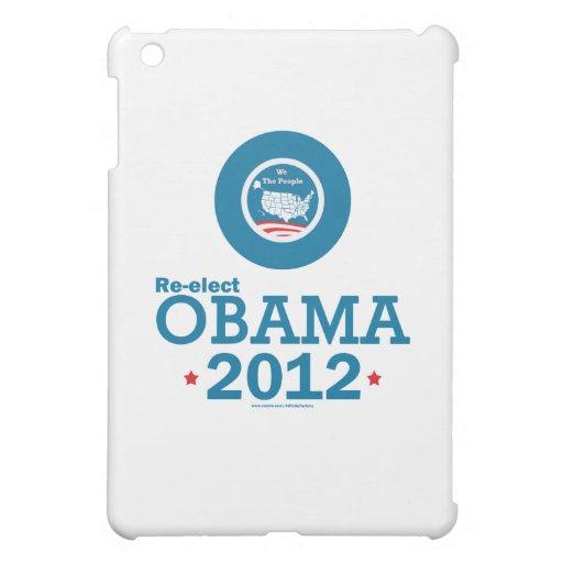 Re-elect Obama 2012 Cover For The iPad Mini