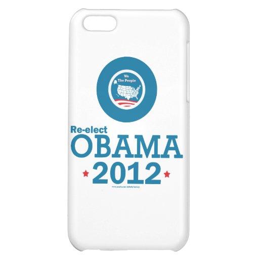 Re-elect Obama 2012 iPhone 5C Cases