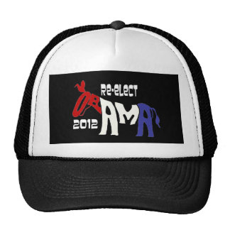 Re-Elect Obama 2012 Mesh Hats