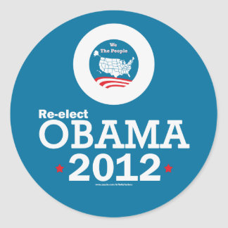 Re-elect Obama 2012 Stickers